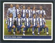 PANINI UEFA CHAMPIONS LEAGUE 2006-07- #380-PORTO 2003-04 WINNERS