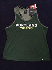 Fanatics Womens Portland Timbers Shirt Tank Top Size XL Green