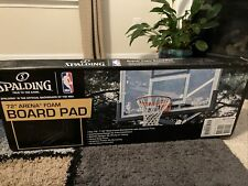 Spalding Foam Basketball Backboard Pad 72 Inch 16672 Black Nib