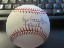 Ken Harrelson White Sox Baseball HOF Announcer Autographed Official MLB Ball JSA