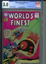 WORLD'S FINEST COMICS #118 CGC 5.0 OW/White 2nd Appearance of Miss Arrowette