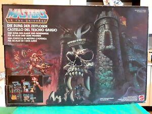 Masters Of The Universe Castle Grayskull retro. He-man