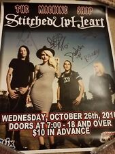 STITCHED UP HEART band Signed Autographed 11x17 heavy cardstock poster