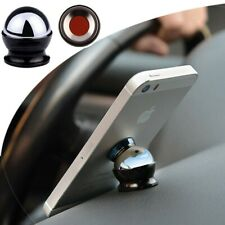 360° Stable Magnetic Steel Car Dash Mount Ball Dock Holder For Cell Phone Tablet