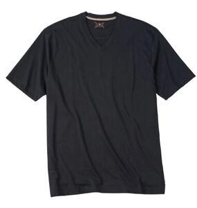 Left Coast Tee LCT Men's V-Neck Pima Cotton Black T-Shirt, Size XXL, Retail $70