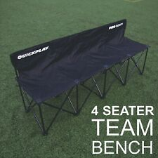 QUICKPLAY Pro Bench 4 Seats   Subs and Team Bench