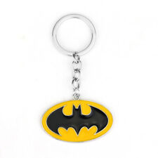Marvel Key Ring Chain Gift Toys @ Batman Logo Keychain Yellow Metal Super Heroes