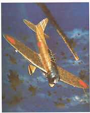 AICHI TYPE 99 D3A1 (VAL) WWII ATTACK AIRCRAFT 1976 BOOK PRINT BY TONY WEDDEL