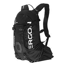 Ergon BA2 All-Mountain Fahrrad/Outdoor-Rucksack 10L Vol m. Trinkblasenfach Black