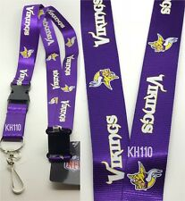 NFL Minnesota Vikings Clip On Keychain Lanyard