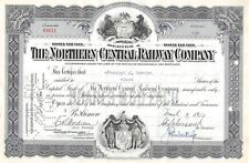 The Northern Central Railway Compagny Certificate 1950 (3421)