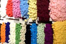 Pom Pom Bolle Frangia - Media Misura 10mm 17 Colori da M & più #D