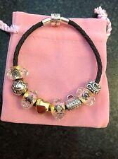 New. Bracelet. Rhona Sutton. Charm bracelet. Gold plated. Silver. Mothers Day.