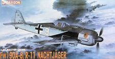 "Dragon 1:48, Focke Wulf Fw-190A-8/R-11 ""Nachtjäger"" & 2x PE parts. Kit Nr. 5514"