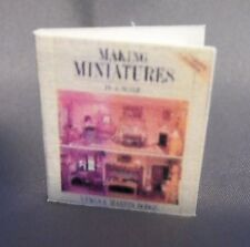 Dollhouse Miniature 1:12 Scale Making Miniatures Book