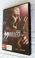 22 Bullets (DVD, 2011) REGION-4, LIKE NEW, FREE SHIPPING WITHIN AUSTRALIA