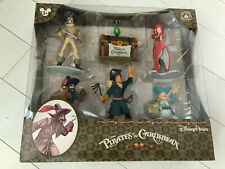 Disney Park Pirates Of The Caribbean Collectible Figures Play Set of 6