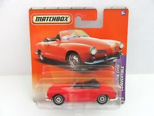 Matchbox Superfast '69 Karmann Ghia Convertible - Red - Mint/Boxed