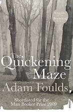 The Quickening Maze by Adam Foulds Paperback New Book Books Novel A11 LL221