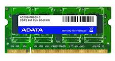 2 Modulo di A-Data GB DDR2-667 (PC2-5400) SO-DIMM 200 pin