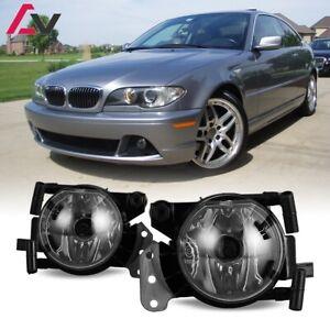 For BMW E60 04-08 Clear Lens Pair Bumper Fog Light Lamp OE Replacement DOT Bulb