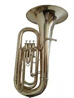 MUSIC TEACHER APPROVED! BRASS FINISH  NEW EB PITCH TUBA +M/P+FREE  HARD CASE