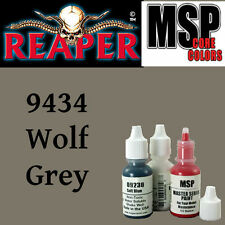 WOLF GREY 9434 -MSP core 15ml 1/2oz paint pot peinture figurine REAPER MINIATURE