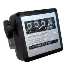 4 Digital Gallon 1 1 Inch Diesel Gas Fuel Oil Flow Meter Counter Gauge