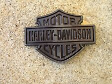 HARLEY 16-up XL883 XL1200 Sportster fuel tank H-D pewter emblem RIGHT side only
