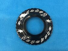 HAYABUSA BLACK CONTRAST ROTOR DELETE COVER - BEAUTY RING - 99-07 GEN 1 BUSA
