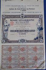 Stade-VELODROME de la ville de Nice, 1926-hochdeko -
