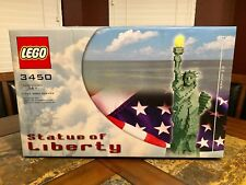LEGO STATUE OF LIBERTY 3450 SCULPTURES 100% COMPLETE VERY RARE!