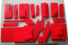 LEGO :  LOT DE 365 BRIQUES ROUGES