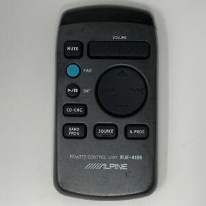 Original Alpine RUE-4185 Remote Control RTRUE4185 RUE4185 MDAW750 MDA-W750