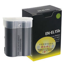New EN-EL15B ENEL15b Battery For Nikon D7100 D7000 D800 D810 D750 Z7 Z6 V1