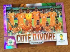 2014 Panini PRIZM FIFA World Cup COTE D'IVOIRE IVORY COAST  Refractor 56/99