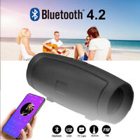Portable Bluetooth Speaker Wireless Outdoor Stereo Loudspeaker Bass TF FM Radio