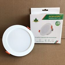 Ecolume 12w LED Downlight with Built In Driver - Changeable 3000K, 4000k, 6500k