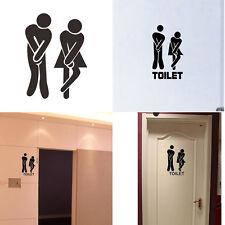 Kaufhaus Büro Hotel WC Zeichen Cool Toilette Eingang Aufkleber Vinyl Wandtattoos
