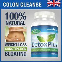 Détox Plus Nettoyage Du Côlon Régime Pilules 90 Capsules Ballonnement