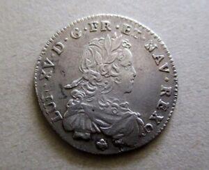 1/6 Ecu de France Louis XV 1721E Tours