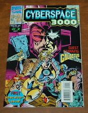 Cyberspace 3000 #1 (1993 Marvel UK) Galactus! Glow in the Dark Cover! NM-/NM