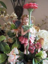 Cicely Mary Barker ZINNIA Flower Fairy Ornament Figurine RETIRED! BNIB