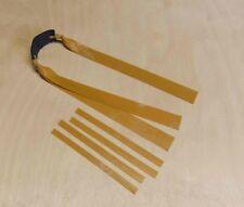 Slingshot doppio Theraband ORO Bands. 220 mm x 20-15 mm. OTT. Caccia Catapulta
