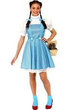 Rubie's 887378 Official Wizard of Oz Dorothy Adult Costume - Large Blue