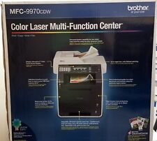 Brother MFC 99970CDW Color Laser All-in-One Printer, Wireless Networking, Duplex