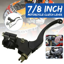 """Universal Left Clutch Perch Lever For 7/8"""" Handle Bar Motorcycle Dirt Bike ATV"""