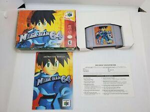 Mega Man 64 Nintendo 64 Complete In Box Original Authentic