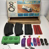 Vintage MORTOYS Triple 8 Super Speed Road Race Slot Car Set Mort Alexander Ltd.