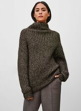 Aritzia Wilfred Montpellier Sweater Heather Hickory Size Small S